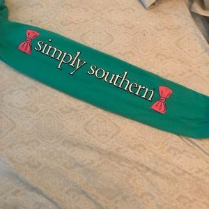 Simply Southern Tops - Simply Southern Long Sleeve Seahorse t-shirt